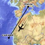italia tenerife volo aereo