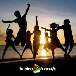 italia tenerife ballare in spiaggia