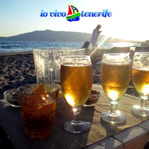 tenerife paradiso birre in spiaggia