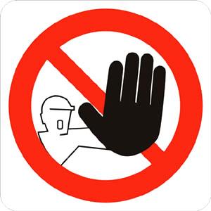 comrare casa a tenerife cartello di divieto