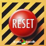 pronto a partire bottone di reset