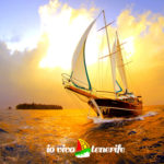 pronto a partire nave in mare