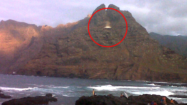 mistero tenerife avvistamento ufo