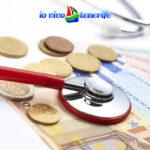 sanità a tenerife stettoscopio e soldi