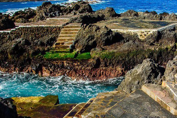Spiagge di tenerife el muelle el caleton e san marcos for Piscinas garachico
