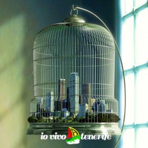 crearsi un lavoro città all'interno di una gabbia