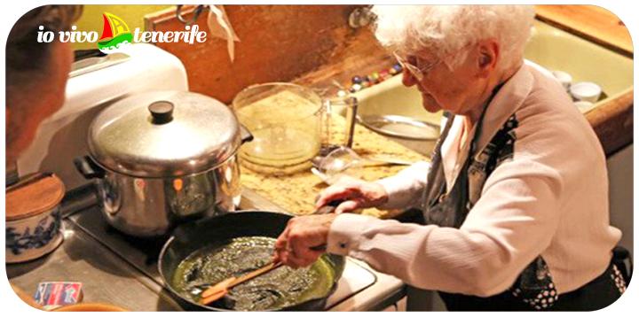 tenerife nonnina che cucina