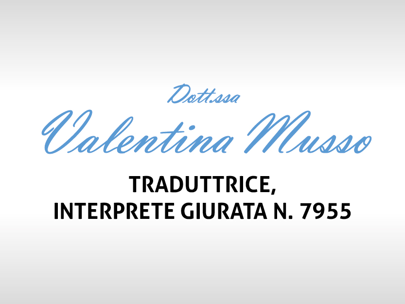 Dott.ssa Valentina Musso