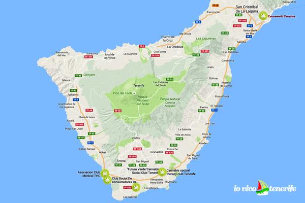 Cannabis Club a Tenerife: ecco cosa dice la legge